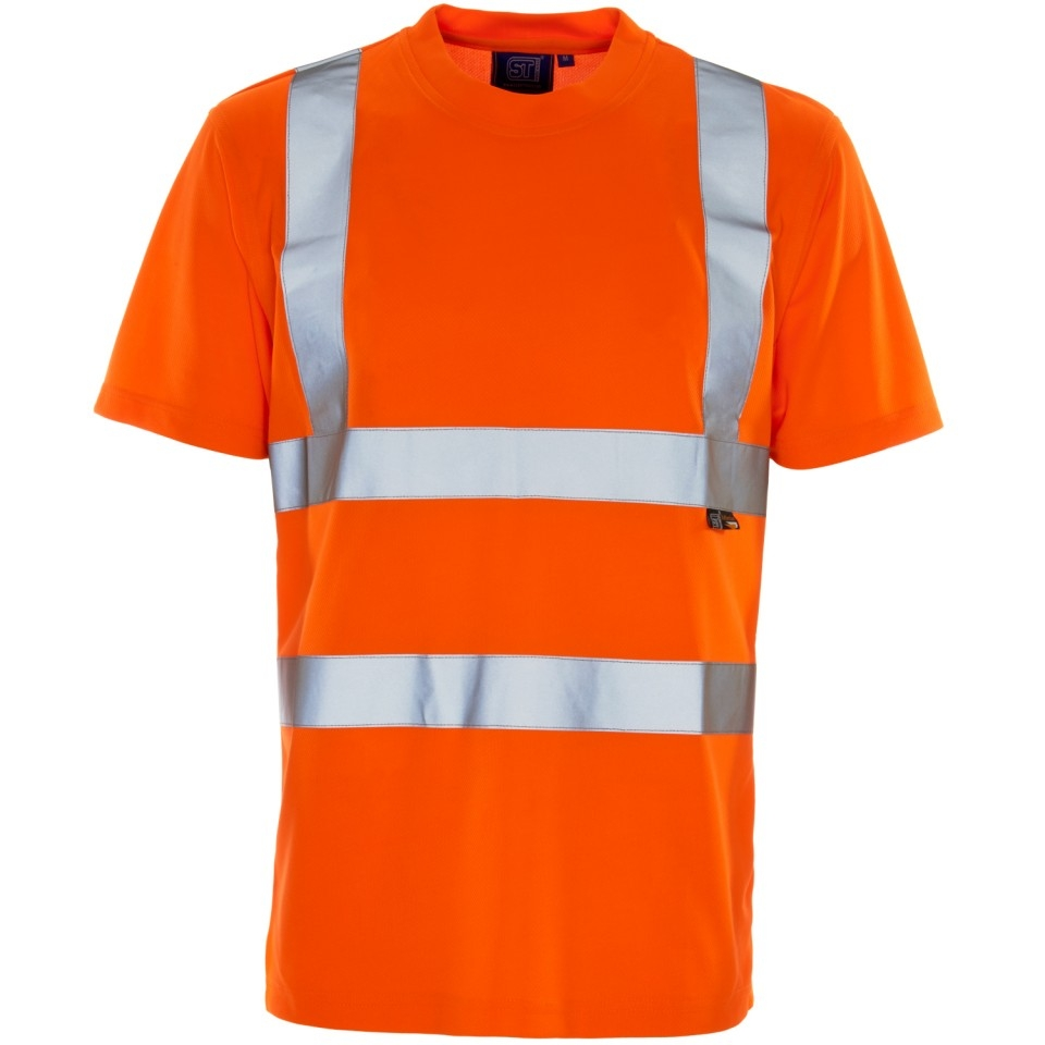 Hi vis bird eye t shirt for Hi vis t shirt printing