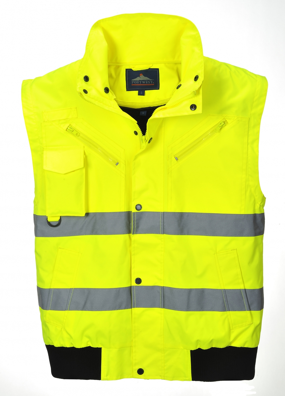 hi vis 3 in 1 bomber jacket